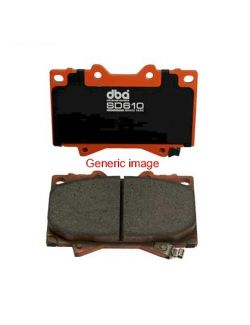 [DB1789SD] DBA 13-16 Scion FR-S / 13-15 Subaru BRZ w/ Vented Rear Disc Brakes SD610 Rear Brake Pads