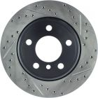 [127.34061L]StopTech Sport Drilled & Slotted Rotor, Left