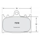 [7518.10]Performance Friction tokico 4-piston (kawasaki- suzuki) Motorcycle brake pads (PFC7518.10)