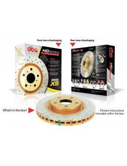 [42526XS] DBA 07-09 Mini Cooper (exc. John Cooper works Brake kit) Front Drilled & Slotted 4000 Series Rotor