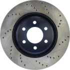 [127.63036L]StopTech Sport Drilled & Slotted Rotor, Left